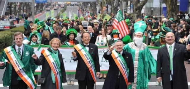 St.Patrick's Day parades in Japan 2016