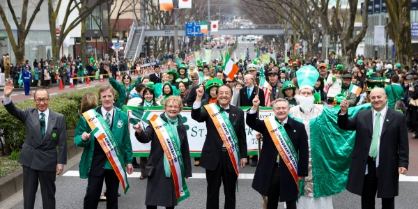 THE 24TH TOKYO ST. PATRICK'S DAY PARADE