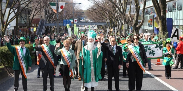 THE 25TH TOKYO ST. PATRICK'S DAY PARADE
