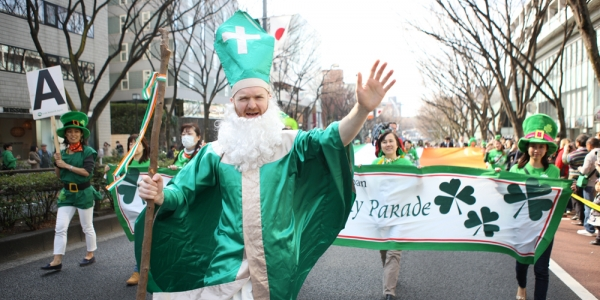 St.Patrick's Day Parade Tokyo 2014