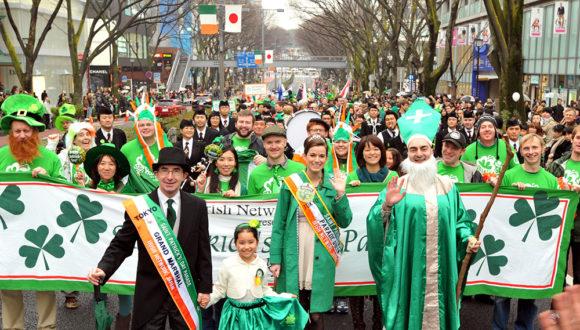 The INJ's 27th Tokyo St. Patrick's Day Parade